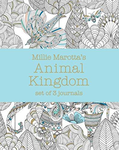 Millie Marotta's Animal Kingdom: Set Of 3 Journals (A Millie Marotta Adult Coloring Book)