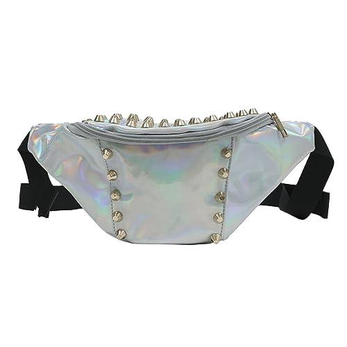 cfc0c4b35fad Amazon.com: Zarapack Women's PVC Hologram Fanny Pack Bum Bag Purse Waist Bag  (Style 2): Shoes