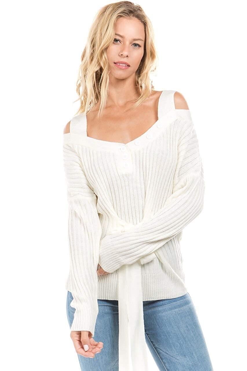 Flor De Sol Snow Bunny Sweater