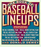 img - for The Book of Baseball Lineups book / textbook / text book