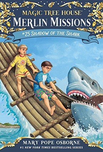 shark chapter books for kids - 1