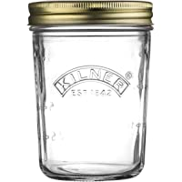 Kilner 25.898 Wide Mouth Preserve Jar, 350ml, Clear 02209