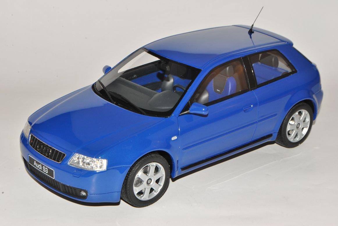 Audi A3 8L Blau 1996-2003 Nr 99 1/18 Otto Modell Auto