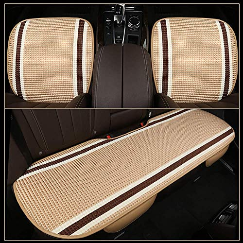 Lqqzq Cushion Car Seat Cushion, Universal Cool Ice Silk Car Seat Four Seasons Comfortable Breathable Protection Office Chair Car Seat Cushion (Color : H) by Lqqzq (Image #5)