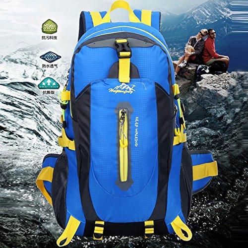 Amazingdeal365 - Bolso mochila  de nailon para mujer azul