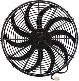 Zirgo 10214 Chrome 16 3000 fCFM High Performance Blu Cooling Fan