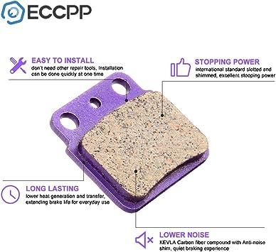 Braking ECCPP fa137 Brake Pads Front and Rear Carbon Fiber ...
