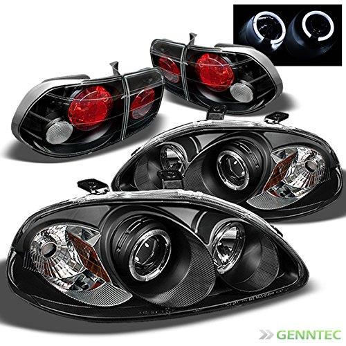 Civic 4d Projector Headlights - 9