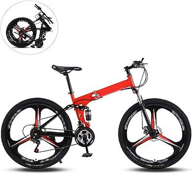 Bicicletas De Montaña Plegables,24 Pulgadas Tres Ruedas De Corte ...