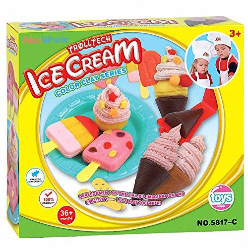 AlanWhale Sweet Cool Ice Cream Playset