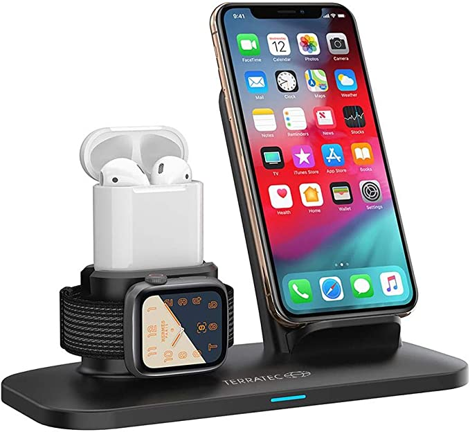 TERRATEC ADD Base Kabelloses Ladepad fr Apple AirPods Ladematte ...