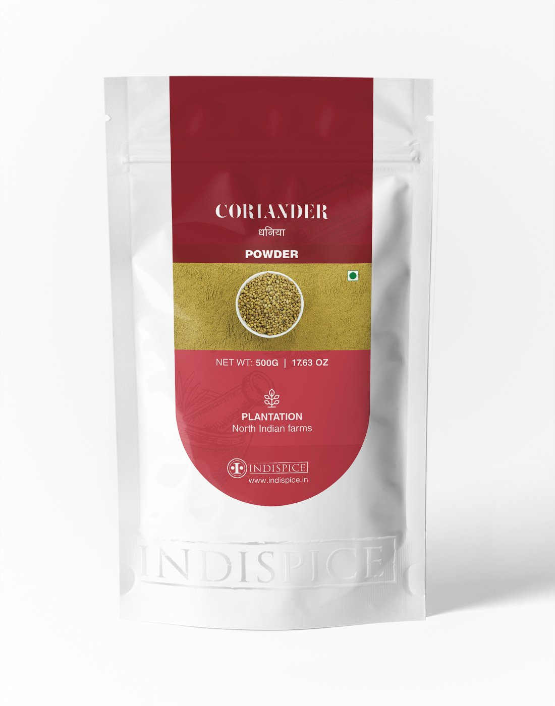 IndiSpice Indian Coriander Powder | Sourced from finest Farms (17.63 Oz)