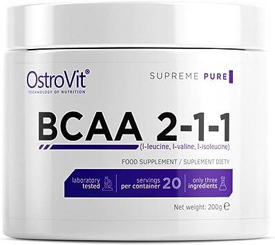 BCAA 2-1-1 200g - Puro sin sabor | Aminoácidos de cadena ...