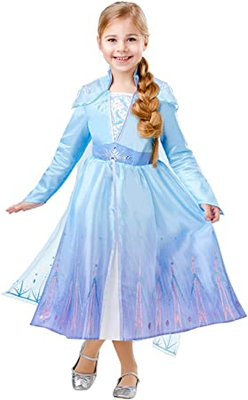 Frozen 2 Deluxe Disfraz Elsa Travel, M, Multicolor, (RubieS ...