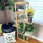 BLUU 小清新6层竹制植物架