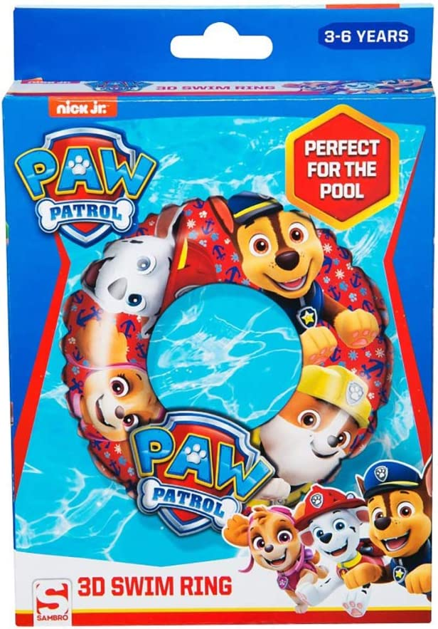 Paw Patrol//–/Ball Inflatable SAICA 7449