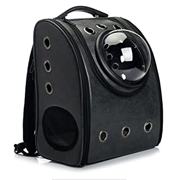 758a013e03 Skyoo Cats Dogs pet Backpack , Astronaut Pet Cat Dog Puppy Carrier Travel Bag  Space Capsule