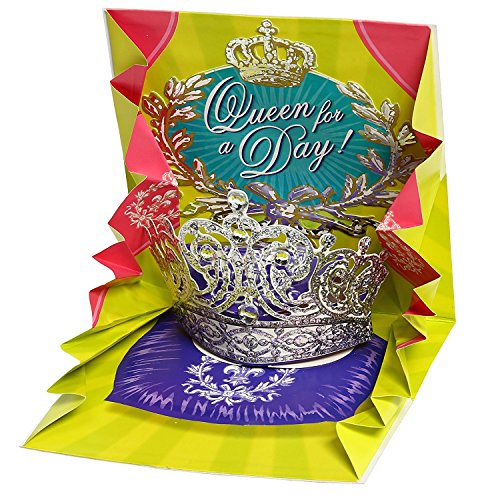 3D Pop-Up Greeting Card W/ Mailing Envelope– Premium Pop Out Greeting Card To Express Your Love- Best Original, Impressive Design Popup Card To Celebrate W/ Friends & Family- Queen (1 (Celebrate Express)
