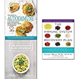 Immune system recovery plan,paleo cookbook,medical autoimmune life changing rescue 3 books collection set