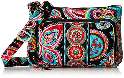 Vera Bradley Little Hipster Cross Body Bag Parisian Paisley One Size