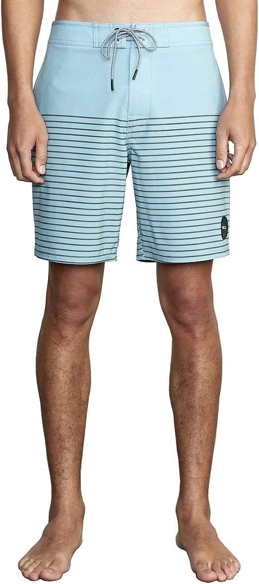 "Men/'s 18/"" Swim Wear Trunk Shorts RVCA /""Curren Caples/"" Boardshorts Black"