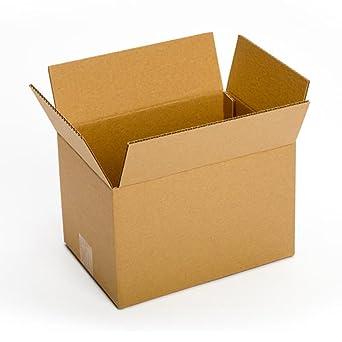 Pratt PRA0047 100% Recycled Corrugated Cardboard Box, 12