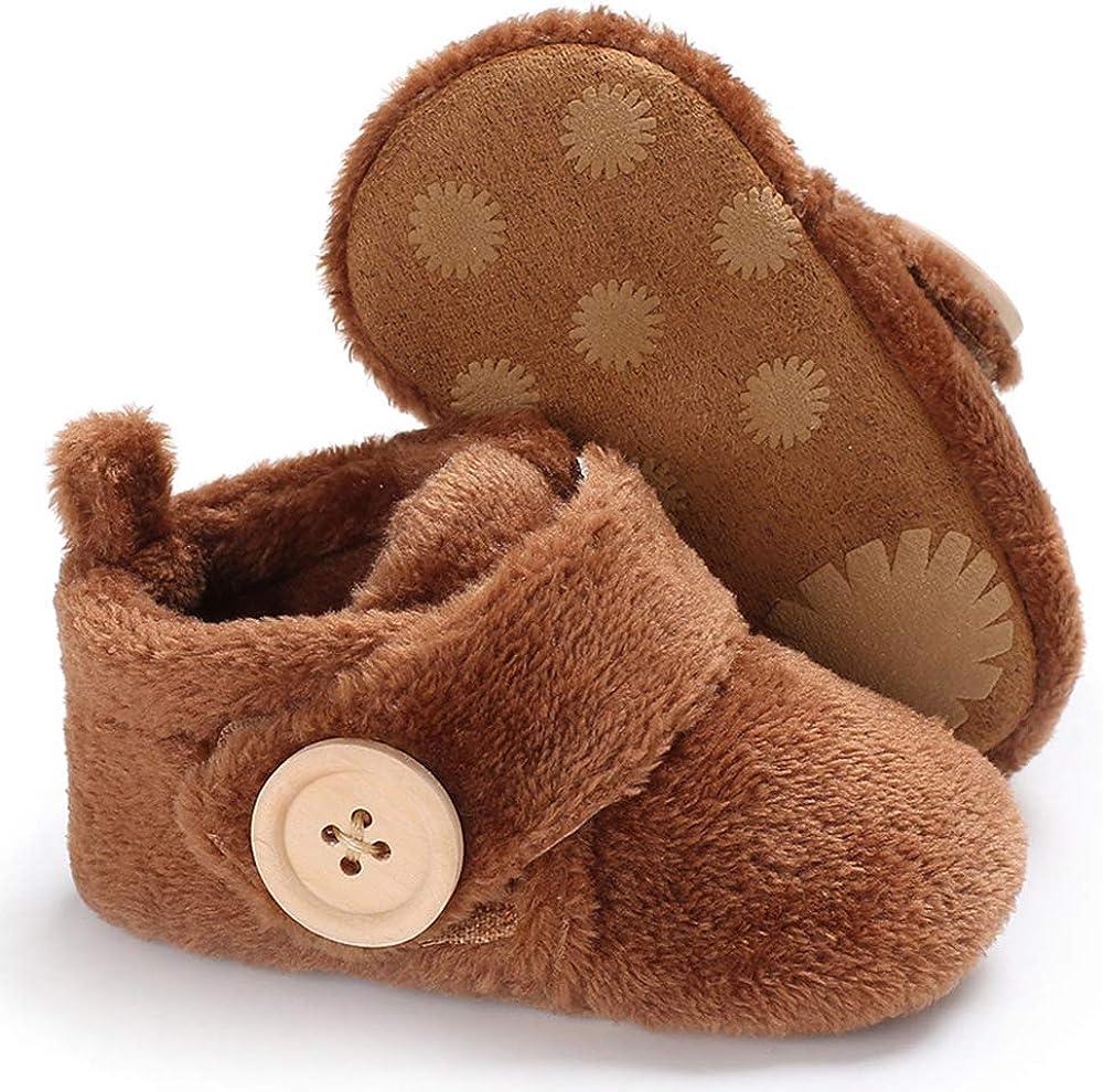 Morbuy Baby K/ünstliche Flusen Schuhe Babyschuhe Neugeborene Kleinkind Weiche Alleinige Anti-Rutsch Krabbelschuhe Wanderer Schuhe