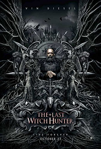 The Last Witch Hunter Movie Poster 11 x 17 Style B (2015) Unframed ()