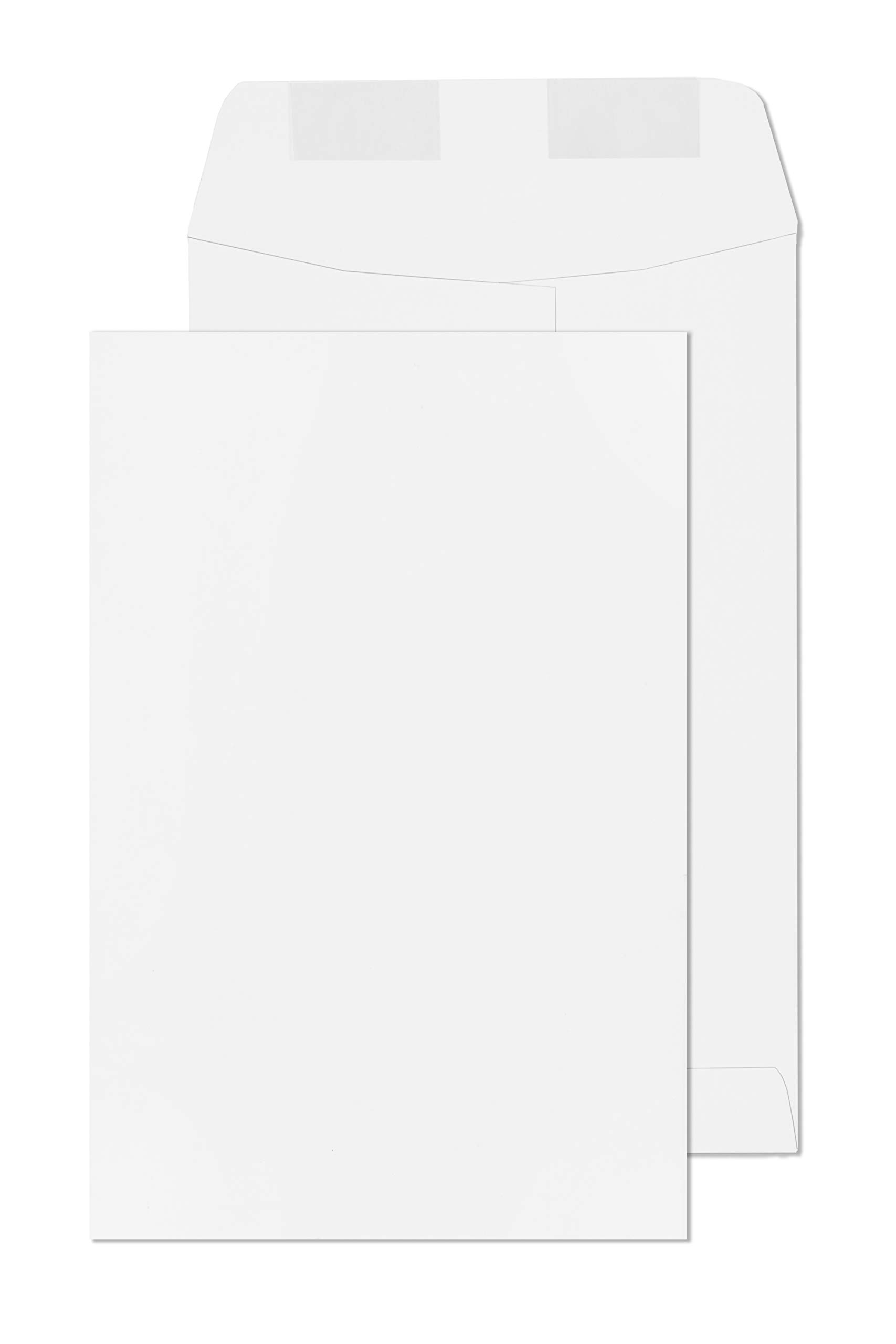 6x9 Envelopes White 500 Box Open End Catalog Envelope -Bulk Box 6'' x 9'' by EnDoc