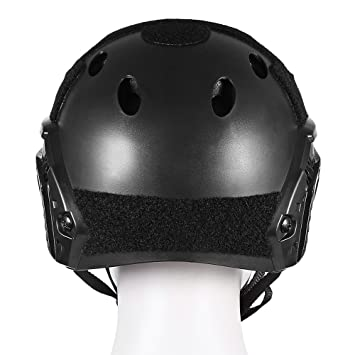 HAPQIN Casco Protector Ligero Crashworthy Táctico para CS Paintball Game