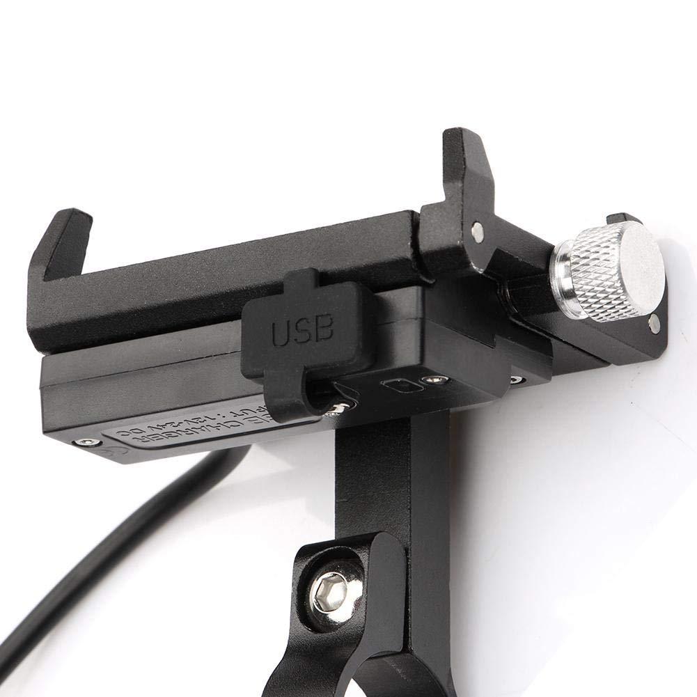 Support de t/él/éphone portable pour v/élo Support de t/él/éphone portable pour moto Support de t/él/éphone portable universel r/églable 4-6.7 pouces appareil /électronique