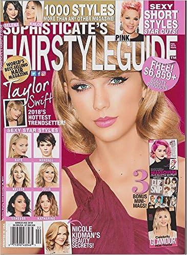 Sophisticate S Hairstyle Guide Magazine February 2018 Amazon Com Books