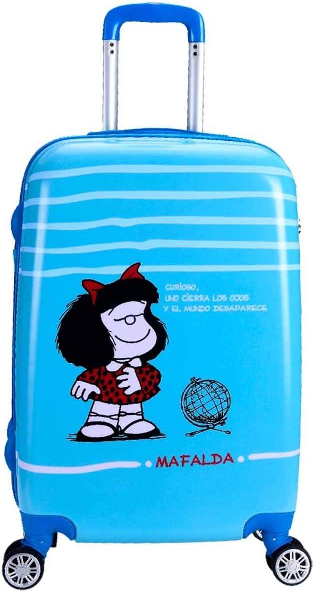 Maleta Cabina 55Cm Mafalda Sky