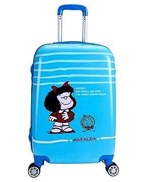 Maleta Cabina 55Cm Mafalda Sky: Amazon.es: Equipaje
