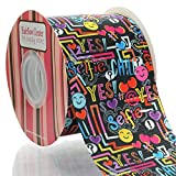 3'' Tween Graffiti Grosgrain Ribbon 100yd