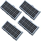 HQRP HEPA Filter 4-Pack for Miele AH-30 SF-AH30 7226160 4854916 4306919 fits S7000, S2000, S300, S400, S500, S600, S700, S800 series Vac Vacuum Cleaner airclean SF-AA30 + HQRP Coaster