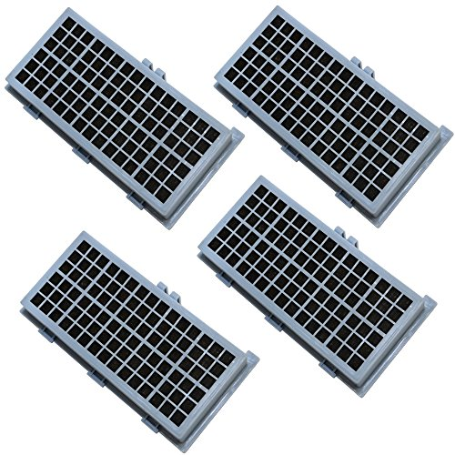 HQRP HEPA Filter 4-Pack for Miele AH-30 SF-AH30 7226160 4854916 4306919 fits S7000, S2000, S300, S400, S500, S600, S700, S800 series Vac Vacuum Cleaner airclean SF-AA30 + HQRP Coaster -