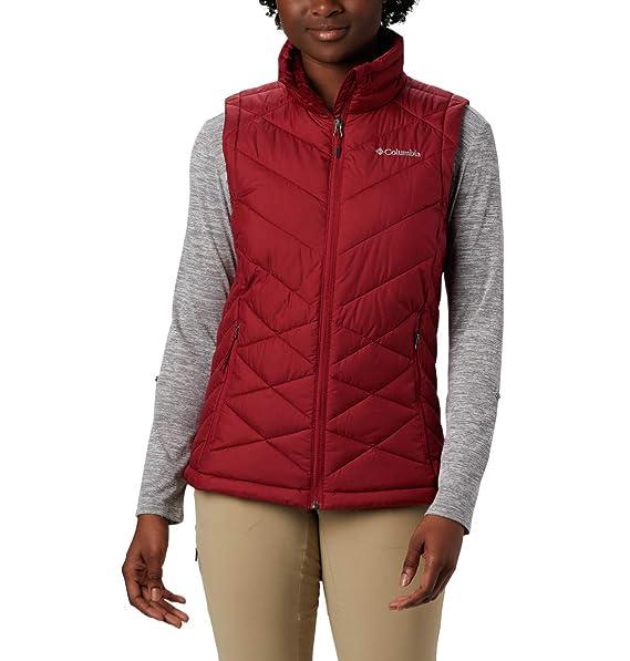 50767d9b4 Columbia Women's Heavenly Water Resistant Insulated Vest