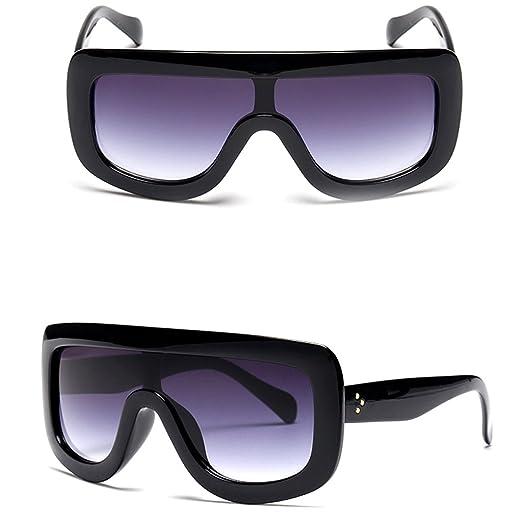 SupremeLife Retro Women Big Frame Square Sunglasses Oversized Shades ...