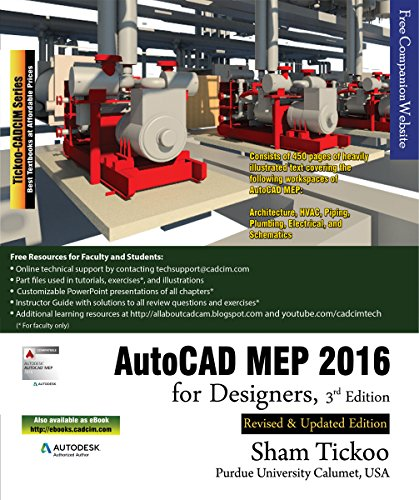 AutoCAD MEP 2016 for Designers, 3rd Edition