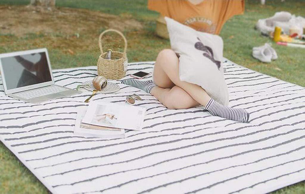 HappyTime Picnic y Estera al Aire Libre Primavera portátil y Picnic otoño excursión Impermeable Playa césped a Prueba de Humedad Espesar Alfombra de Campo,b 58df37