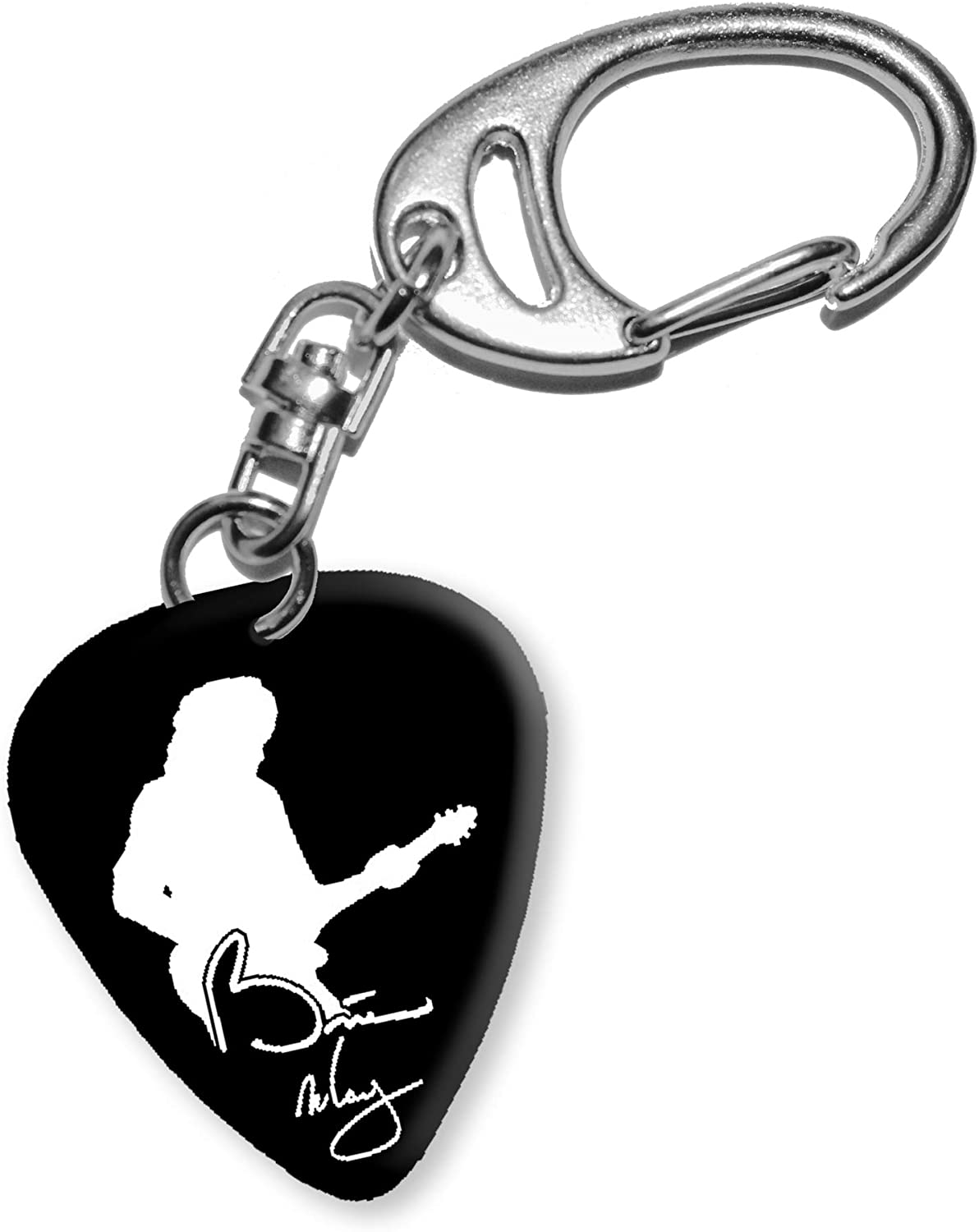 Brian May Queen Diseño 2 Guitarra Púa Keyring llavero bweg: Amazon ...