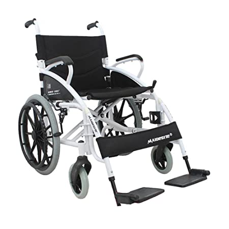 brand new 4a549 da40d ANLEI Wheelchair Manual wheelchair Folding wheelchair Home Medical  Ultralight easy to carry Used for Elderly Patient Disabled  Amazon.co.uk   Kitchen   Home