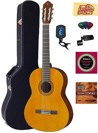 Yamaha C40 Guitarra Acústica con Cuerdas de nailon paquete ...
