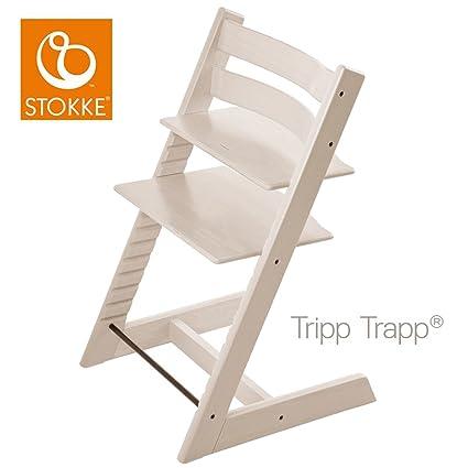 Stokke Chaise Haute Evolutive Tripp Trapp Blanqueado Amazon Fr