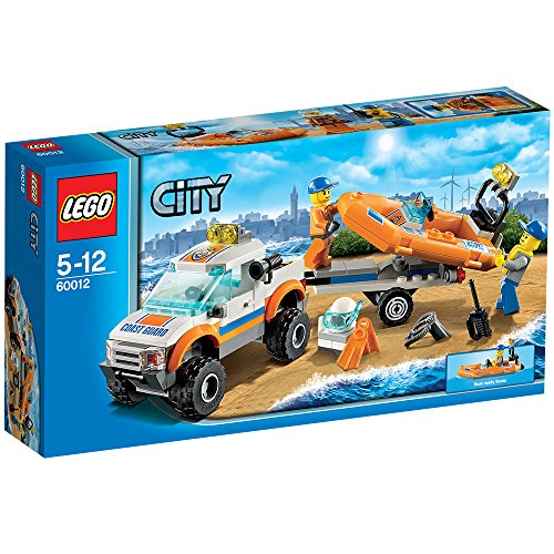 Lego city 4x4 diving boat 60012