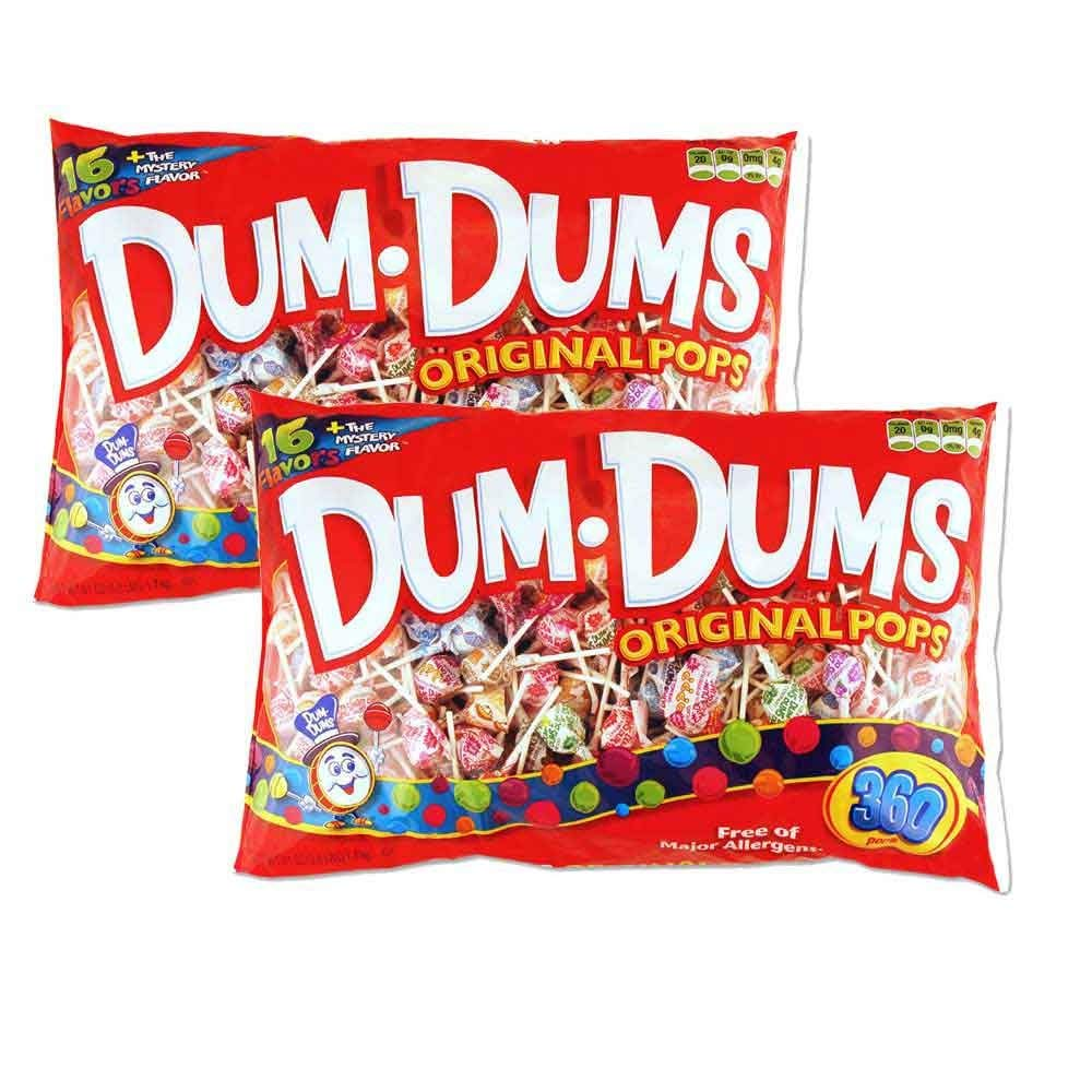 Dum Dums Original Pops, 720ct (2 Pack)