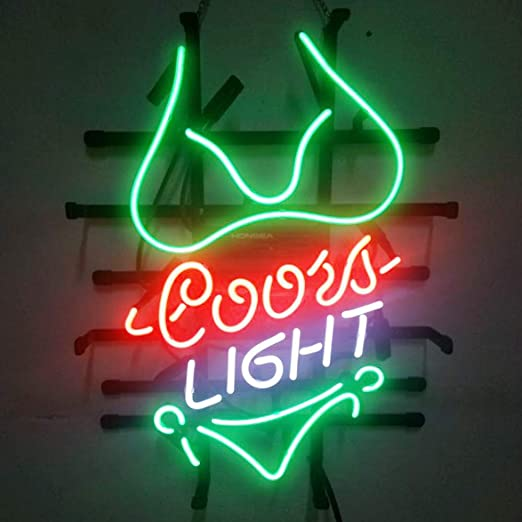 Amazon.com: Coors - Cartel de pared con diseño de bikini ...