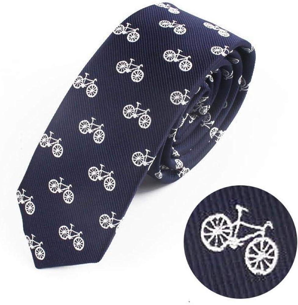 LYDP Corbata Moda Elegante Hombre Dibujos Animados Bicicleta ...