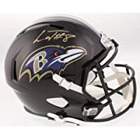 $359 » Authentic Lamar Jackson Autographed Signed Baltimore Ravens Full-Size Speed Helmet (Beckett COA)